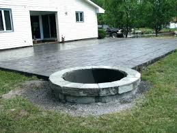 concrete patio designs with fire pit. Patio Designs Fire Pit Backyard Ideas Outdoor Design Inspired Best Concrete With Pageot.win: Flower Boxes Ideas. End Tables. Swing