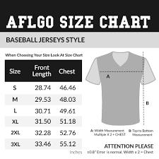 Size Charts Aflgo
