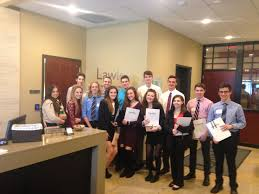 lawley hosts a job shadow day for the lancaster high school lawley hosts a job shadow day for the lancaster high school academy of finance