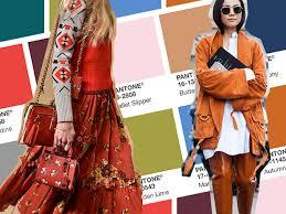 Risultati immagini per moda pantone colori autunno inverno 2018