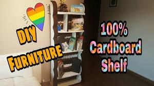 make cardboard furniture. DIY - Cardboard Shelf / Furniture: How To Make From Cardboard: Furniture