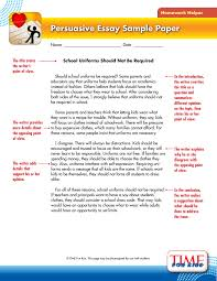 short essay example for kids toreto co persuasive samples th   filepersuasive essay sample jpg persuasive essay s persuasive essays sample essay full