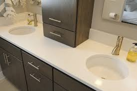 Quartz Bathroom Countertop A Trend Our Clients Love Quartz Countertops Thompson Remodeling