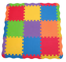 amazoncom  edushape solid play mat  count  baby play mat  baby