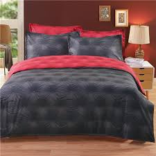 whole american style black and red quilts duvet cover sheet sets reactive printed 3d duvet covers bedding sets fl bedding sets duvet covers