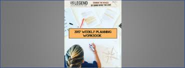 Weekly Planning Live Your Legend How I Plan My Week My 5 Step Process Free