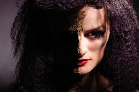 how to create a gothic vire makeup style