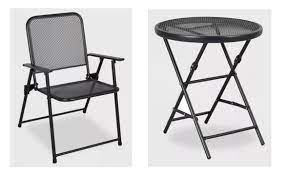 threshold metal patio furniture from