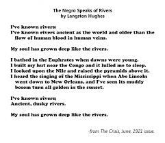 negro speaks of rivers essay the negro speaks of rivers essay