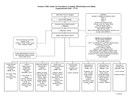 Organizational Chart Center For Innovations In Quality