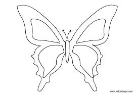 Farfalla Da Colorare Farfalla Da Colorare Art Projects