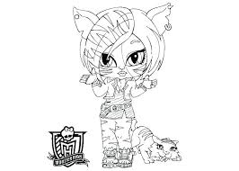 monster high babies coloring pages baby monster