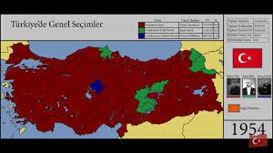 1950-2002 Genel Seçim Sonuçları - Son Seçim Anketi