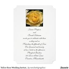 107 best wedding invitations images on pinterest craft wedding Zazzle Bling Wedding Invitations yellow rose wedding invitations Elegant Wedding Invitations