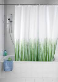 wenko nature anti mold anti bacterial polyester shower curtain 1800 x 2000mm 20060100 at victorian plumbing uk