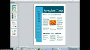 Free Magazine Template For Microsoft Word Microsoft Word Magazine Template Free Dlword
