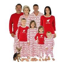 Matching Family Christmas Pajamas Kids Baby Boys Adult Deer Pajama Sets Children\u0027s For Couples Ladies Sleepwear