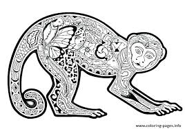 Animal Coloring Pages For Adults Pdf Coloring Book Sheets Bspokeme