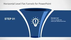 Free Flat Funnel Powerpoint Template Slidemodel