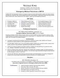 Emt Basic Resume Examples Best Of Emt Perfect Resume Archives InstaEngineCo Valid Emt Resume On