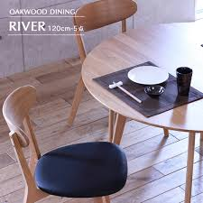 dining set 5 points set round table dining table set 120 cm 4 persons seat