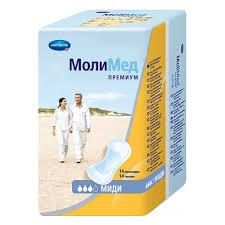 <b>Прокладки</b> урологические Hartmann <b>MOLIMED Premium midi</b>,14 шт.
