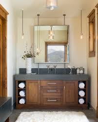 rustic urban bathroom