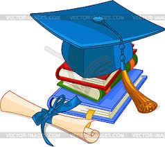 шапку и диплом изображение в векторном виде Выпускной шапку и диплом изображение в векторном виде