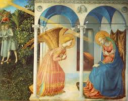 art and the annunciation