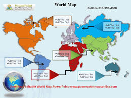 World Map Powerpoint Templates Youtube