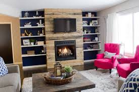 reclaimed wood fireplace97