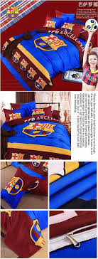 popular boys soccer team bedding set duvet doona cover bed sheet pillow cases 3 4pcs bedclothes set