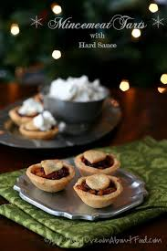 mincemeat tarts with hard sauce low