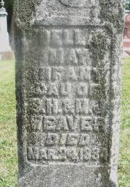 WEAVER, DELLA MAY - Montgomery County, Ohio | DELLA MAY WEAVER - Ohio  Gravestone Photos
