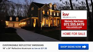 Car For Sale Sign Examples Keller Williams Real Estate Signs
