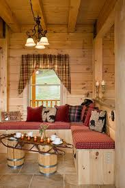 cabin home decor interior lighting design ideas