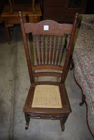 vintage antique wooden rocking chair wood pressed back vintage wooden rocking chair