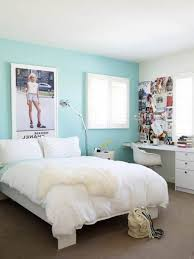 Bedroom: Calming Blue Paint Colors For Small Teen Bedroom Ideas With Modern  Study Table Ideas, Pink Bedroom Colors, Purple Bedroom Designs - Home Decor