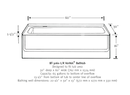 clawfoot tub dimensions. Clawfoot Tub Dimensions Charming Standard Shower Size Gallery Best Interior Design Width . A