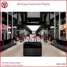 Mac Makeup Display Stands Magnificent 32 Mall Cosmetic Shop Counter Interior Design Buy Cosmetic Shop