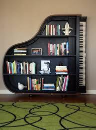 1. Piano bookcase
