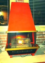 vintage electric fireplace sent from my antique white retro cone f mid century modern electric fireplace retro cone fireplaces