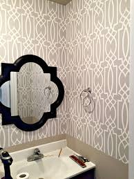 Powder Room Wallpaper Wallpaper In Powder Room Archives A Purdy Little House