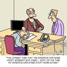 Problem At Work It Problem Cartoons And Comics Funny Pictures From Cartoonstock