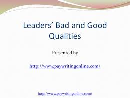 characteristics of a good leader essay good leadership qualities essay charming essay on a good leader ideas