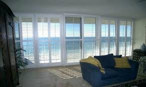 how much are plantation shutters for sliding glass doors plantation shutters cost wood for sliding glass