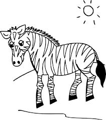 Coloriage Zebre Coloriage Girafe Singes Coloriage A Imprimer Zou