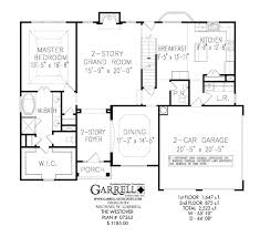Westover House Plan   House Plans by Garrell Associates  Inc westover house plan   st floor plan