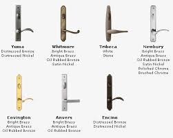 andersen patio doors hardware