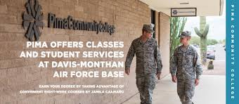 Air Force Paramedic Pima Offers Classes And Student Services At Davis Monthan